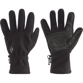 Black Diamond Midweight Windblock Fleece Handschoenen, zwart
